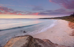 Sunrise at Nelson Beach Jervis Bay Royalty Free Stock Photos