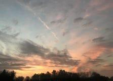 Sunrise. New York Nature Royalty Free Stock Image