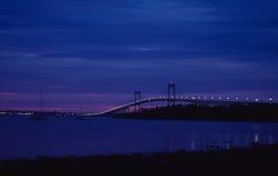 Sunrise in Newport, Rhode Island. The Sunrise on another beautiful day in Newport, Rhode Island. Image taken from color slide stock photo