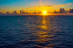 Sunrise on the North Atlantic Royalty Free Stock Photos