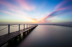 Sunrise at North Narrabeen pool. Sunrise at North Narrabeen Ocean Pool...Australia Stock Photo