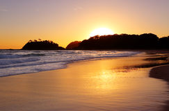 Sunrise Number One Beach NSW Australia Royalty Free Stock Photography