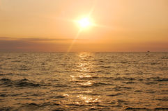 Sunrise ocean Royalty Free Stock Photo
