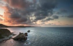 Sunrise ocean landscape Mupe Bay Royalty Free Stock Photo