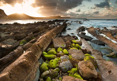 Sunrise ocean landscape Mupe Bay Royalty Free Stock Image