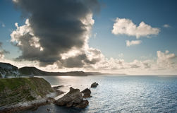 Sunrise ocean landscape Mupe Bay Stock Photo