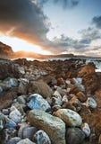 Sunrise ocean landscape Mupe Bay Stock Image