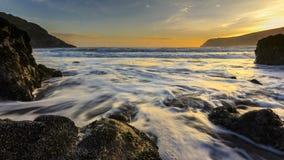 Sunrise, Ocean, Sea, Coast Stock Photo