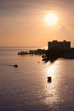 Sunrise in Ocho Rios, Jamaica Royalty Free Stock Photo