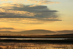 Sunrise Of River Royalty Free Stock Image