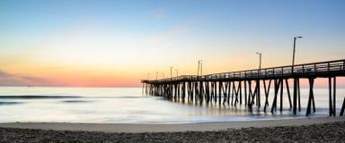 Sunrise off 14th st. Pier 2 Royalty Free Stock Photos