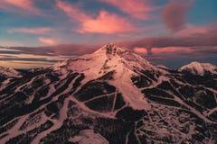 Free Sunrise On Lone Peak, Montana Royalty Free Stock Photos - 139955858