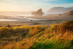 Sunrise at Oregon coast Royalty Free Stock Photography