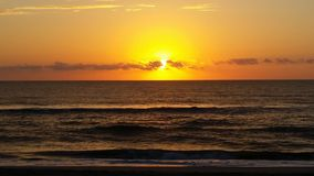Sunrise in outer banks Royalty Free Stock Photos