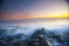 Sunrise outside of Cairns, Australia. Royalty Free Stock Image