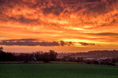 Sunrise Over Aberdeen Stock Images