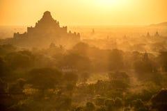 Sunrise over ancient Bagan, Myanmar Royalty Free Stock Image