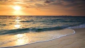 Sunrise over Andaman sea at Koh Adang in Satun Royalty Free Stock Image