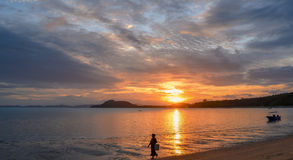 Sunrise over the Andaman Sea Royalty Free Stock Image