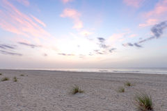 Sunrise over Atlantic ocean Stock Photo