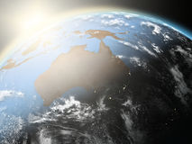 Sunrise over Australia Stock Images