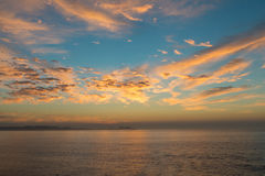 Sunrise over Baja Royalty Free Stock Photos