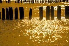 Sunrise over the Baltic Sea Stock Photography