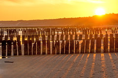 Sunrise over the Baltic Sea Royalty Free Stock Images