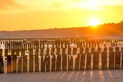 Sunrise over the Baltic Sea Stock Image
