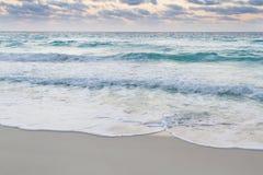 Sunrise. Over the beach on Caribbean Sea Royalty Free Stock Photo