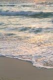 Sunrise. Over the beach on Caribbean Sea Stock Photos