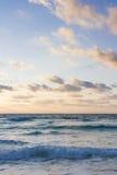 Sunrise. Over the beach on Caribbean Sea Royalty Free Stock Image
