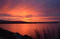 Sunrise over Berkeley California Royalty Free Stock Photography
