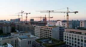 Sunrise over Berlin. Stock Photo