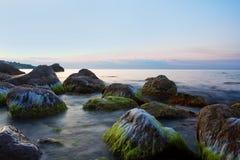 Sunrise over black sea Royalty Free Stock Photos