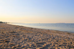 Sunrise over the Black sea. Ukraine Royalty Free Stock Photo