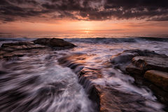 Sunrise over Black Sea Royalty Free Stock Images