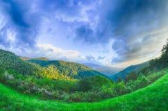 Sunrise over Blue Ridge Mountains Royalty Free Stock Image