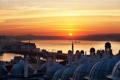 Sunrise over the Bosphorus Royalty Free Stock Photography