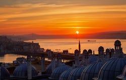 Sunrise over the Bosphorus Stock Image