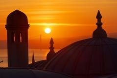 Sunrise over Bosphorus Stock Photo