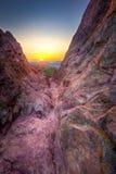 Sunrise Over Boulder, CO Royalty Free Stock Image