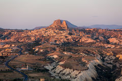 The sunrise over Cappadocia Royalty Free Stock Image