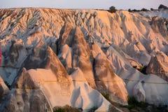 The sunrise over Cappadocia Stock Photo
