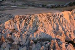 The sunrise over Cappadocia. Stock Photography