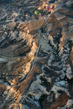 The sunrise over Cappadocia. Stock Photos