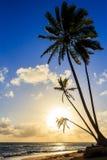 Sunrise over Caribbean sea Royalty Free Stock Photo
