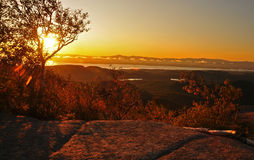 Sunrise over Champlain Royalty Free Stock Photos