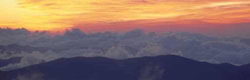 Sunrise over Clingman's Dome, Stock Photos