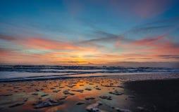 Sunrise over Cocoa Beach Stock Photo